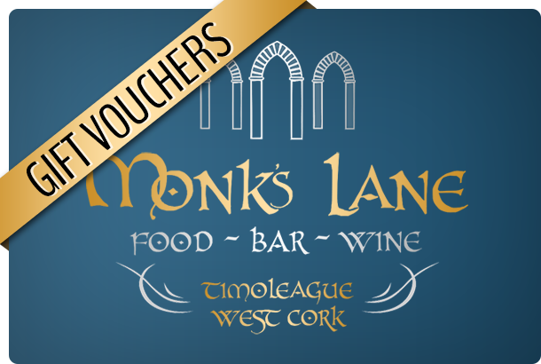 Image for Monk's Lane Gift Voucher